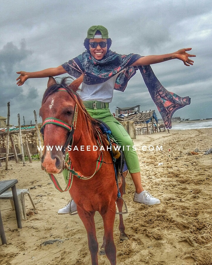 MY NYSC DIARY X (FIRST TIME ON A HORSE)